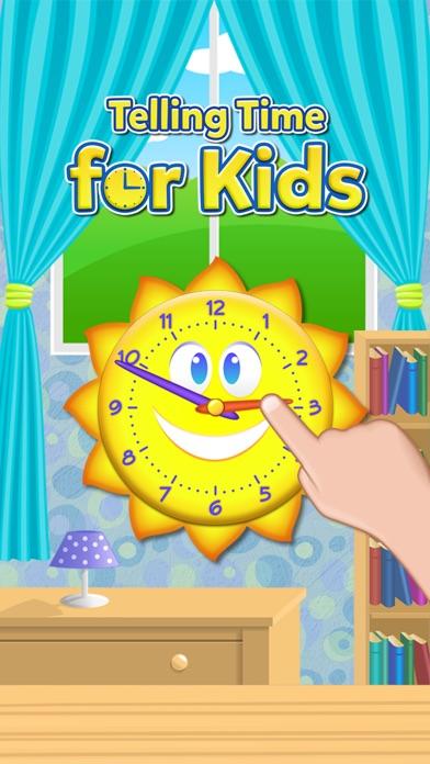 楽しい時間ゲームを伝える - インタラクティブアナログ時計と時計の読み方を学ぶのおすすめ画像1