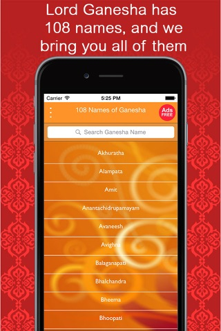 108 Names of Ganesha - Chant Ganesha's name! One for every reason! 108 for every season! screenshot 2