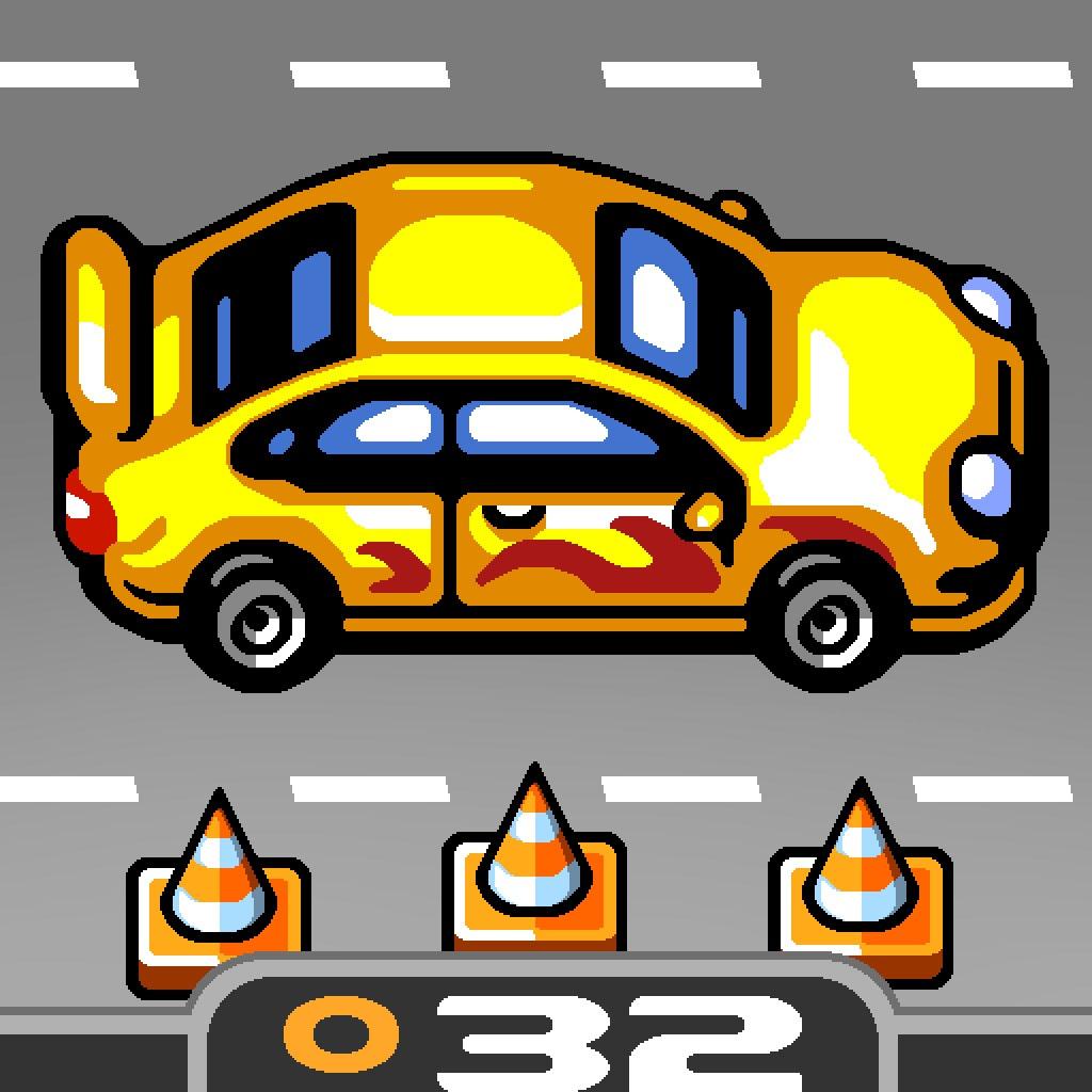 donut games 出品的32号作品,横版动作类赛车游戏,在游戏中体验一次