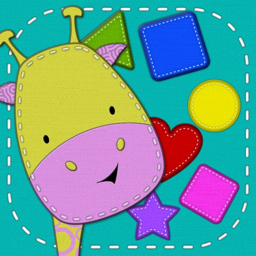 Patchimals - Shapes and colors: Educational game for babies, toddlers and preschoolers