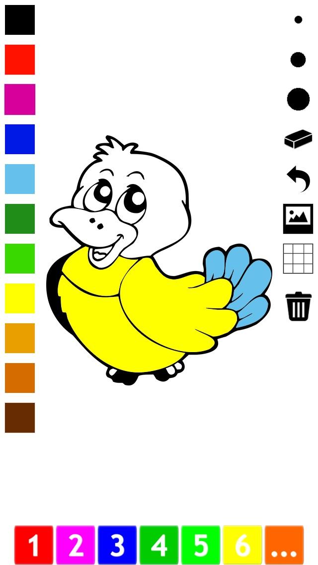 Actif! Livre À Colorier des Animaux Pour Les Enfants D'apprendre À Peindre des TableauxCapture d'écran de 2