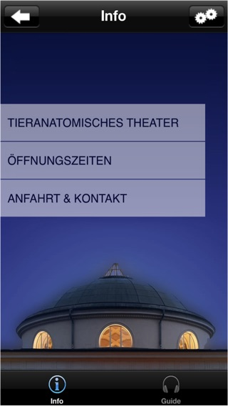 Das Tieranatomische Theater in Berlin - Audioguide Screenshot