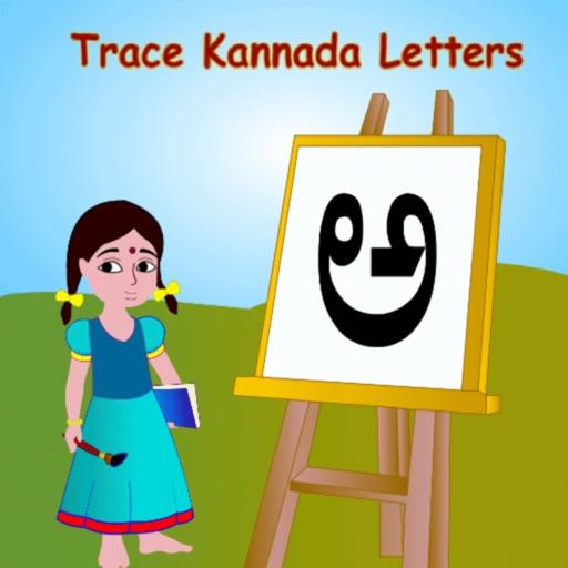 Trace Kannada and English Alphabets Kids Activity iOS App