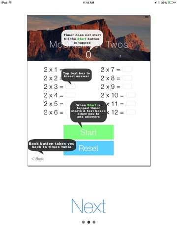 Times Tables - Learning screenshot 3