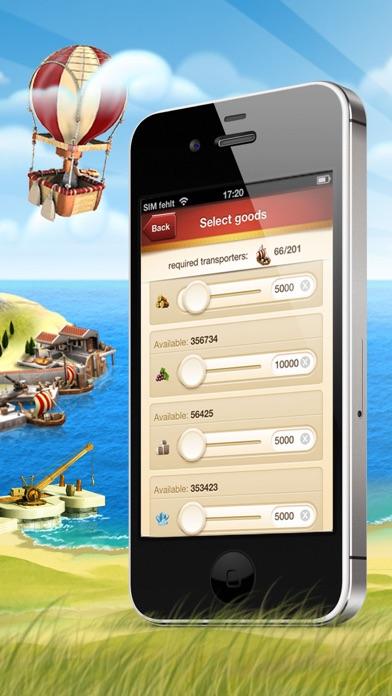 Screenshot of Ikariam Mobile2