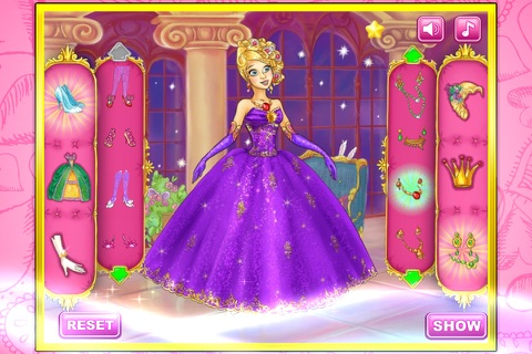 Princess wedding show screenshot 3