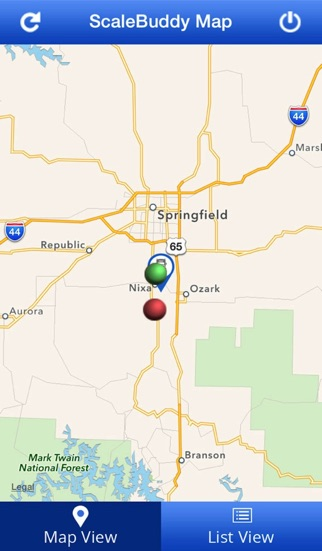 Scale Buddy Weigh Station Status And Alerts On The App Store - Us weigh station map