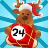 Attivo! Calendario Dell'Avvento  per i Bambini di Dicembre e un Buon Natale