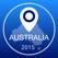 澳大利亚离线地图+城市指南导航,景点和运输