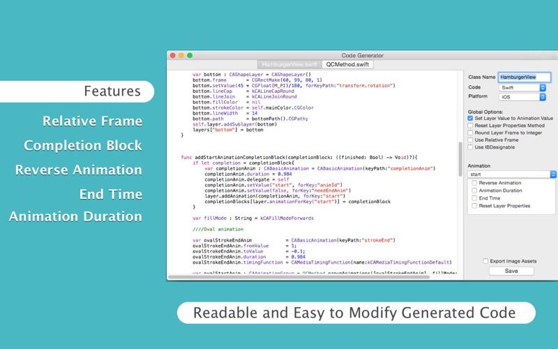 QCode Screenshots