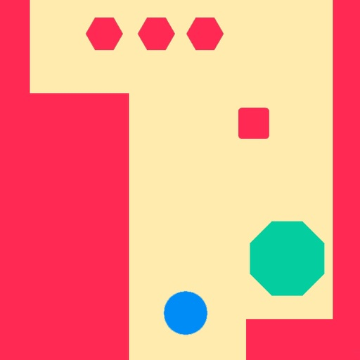 Shape Obstacles - Zen Escape Fun iOS App
