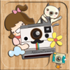 RibbonCamera  by PhotoUp - Cute Stamps Frame Filter photo decoration app