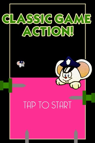 Mappy the Bouncing Mouse - A retro style game screenshot 1