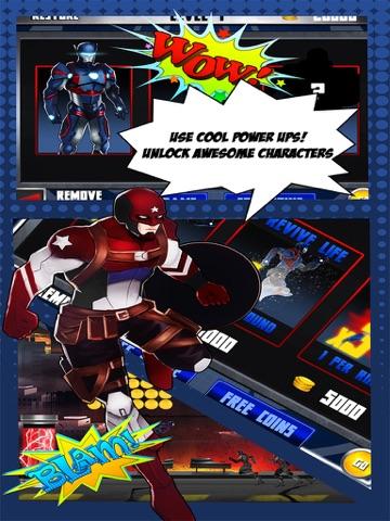 Superhero Iron Steel Justice – The Alliance League of 3 FX Man 2 Free-ipad-1
