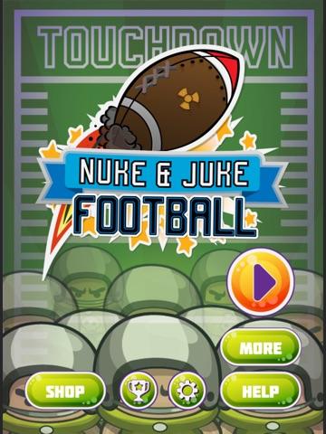 Nuke & Juke Touchdown Football iPad