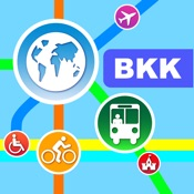 Bangkok City Maps – Discover BKK with MRT, Bus, and Travel Guides. [iOS]