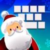 Рождество Keyboard - холодный цвет Xmas Theme