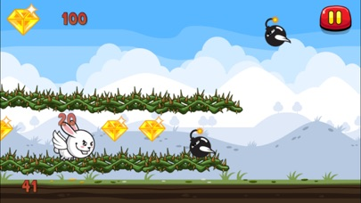 download Aaah! It's Flappy the Crazy Rabbit Vs Angry Clumsy Bombs! Christmas HD Free Edition apps 1