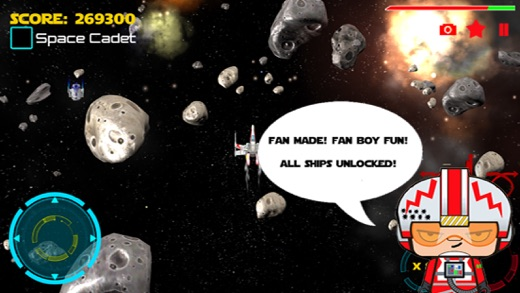 Space Cadets Star Fighter Screenshot