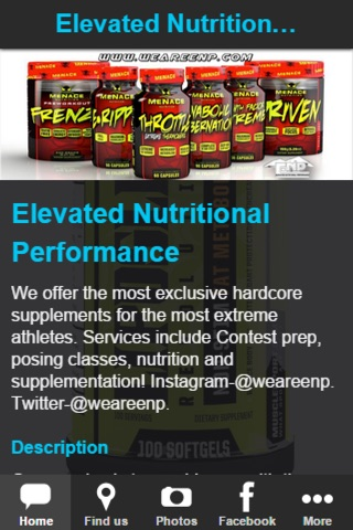 ElevatedNutritionalPerformance screenshot 2