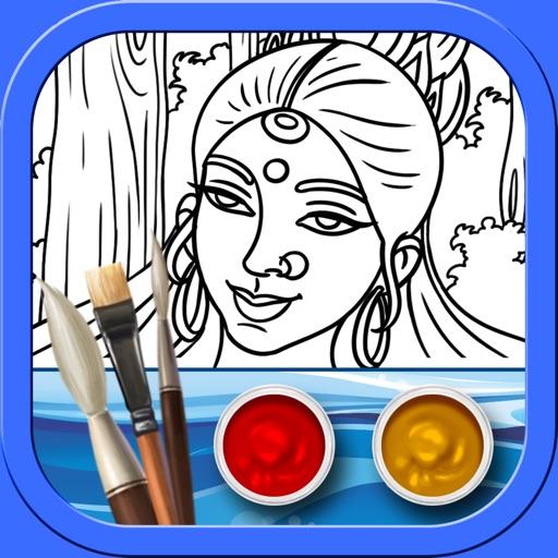 "Ganga - Colouring ""iPad Edition"" iOS App"