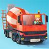 Fox and Sheep GmbH - Little Builders - Truck, Crane & Digger for Kids artwork