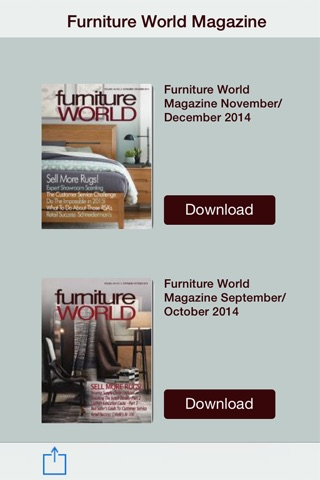 FurnitureWorldMagazine screenshot 2