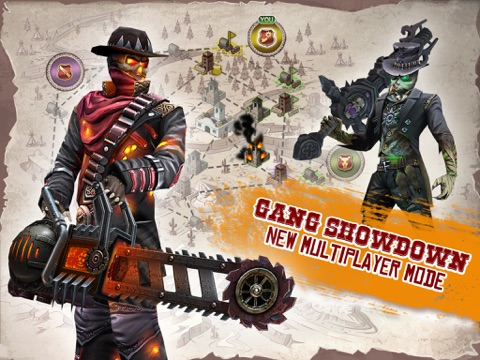 Screenshots of Six-Guns: Gang Showdown for iPad