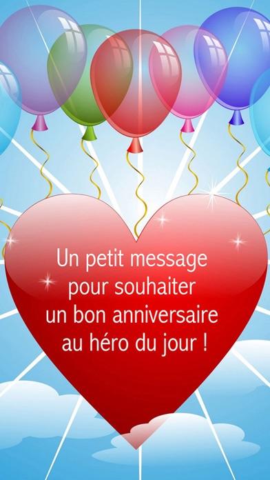 Souvent Joyeux anniversaire - Cartes de voeux: Bon anniversaire Messages  JF22