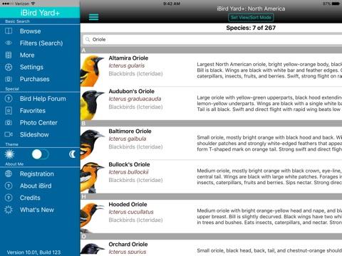 iBird Yard+ Guide to Birds screenshot 1