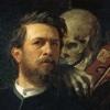 Arnold Bocklin Artworks Stickers walking dead dead