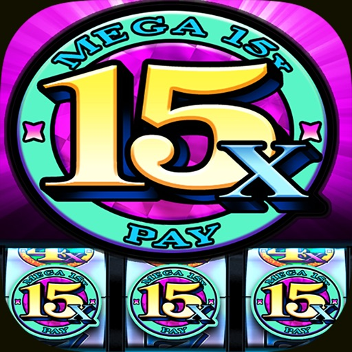 SLOTS Downtown Deluxe - Vegas Classic Slot Casino Icon