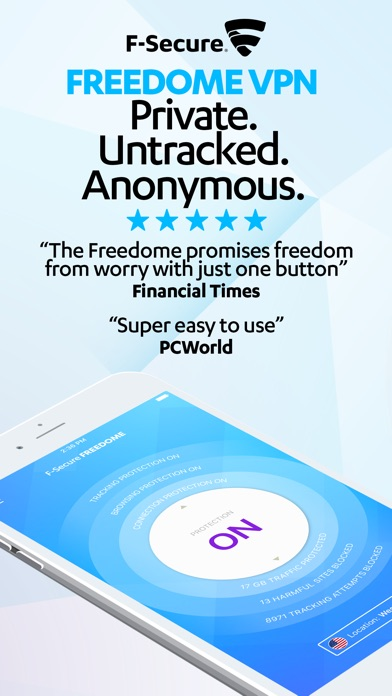 download F-Secure Freedome VPN appstore review