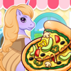 My Little Cafe Pony Pizza and italian Maker shop