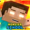 Monster School & Herobrine Skins For Minecraft PE
