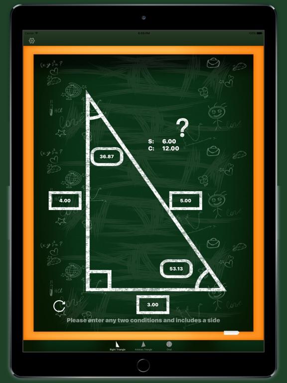 Screenshot #1 for Trigonometry - scientific calculator