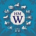 Horoscope Monogram Wallpaper - initials background icon