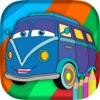 Auto Disegni da colorare per i bambini - libro