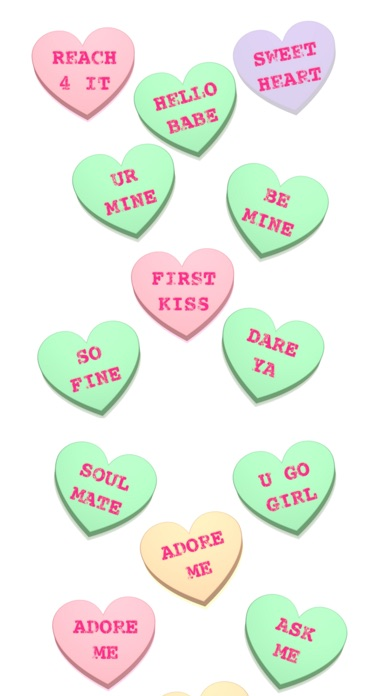 Screenshot #6 for Conversation Hearts XOXO