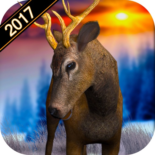 Deer Hunting 2017: Wild Sniper Hunting Seasons 3D iOS App
