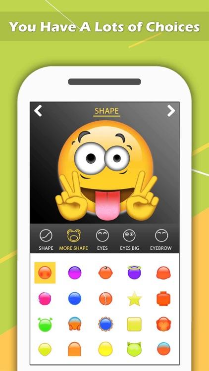Emoji Maker - Create Personal Chat Emojis,Smiley by Pankaj Yadav