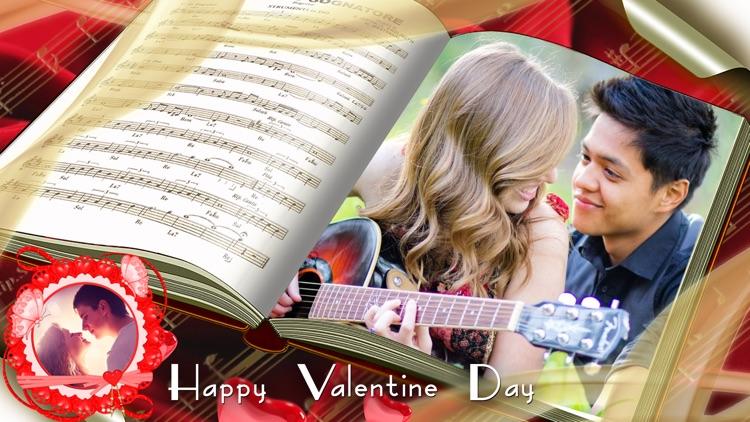 valentine day photo frame editor love photo frame