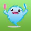 Blue Fluff Ball Stickers Wiki