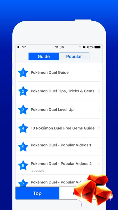 Free Gems Guide for Pokemon Duel-1