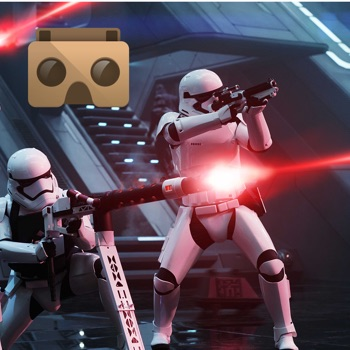 VR Player for Star Wars with Google CardBoard for iPhone