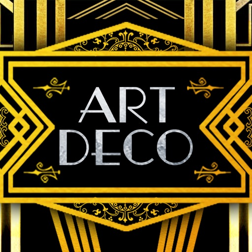 art deco stickers and messages par firestorm apps limited. Black Bedroom Furniture Sets. Home Design Ideas