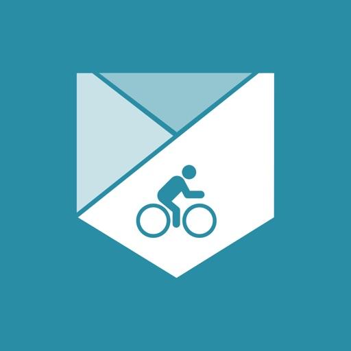 Map My Tracks Cycling - GPS bike ride tracker iOS App