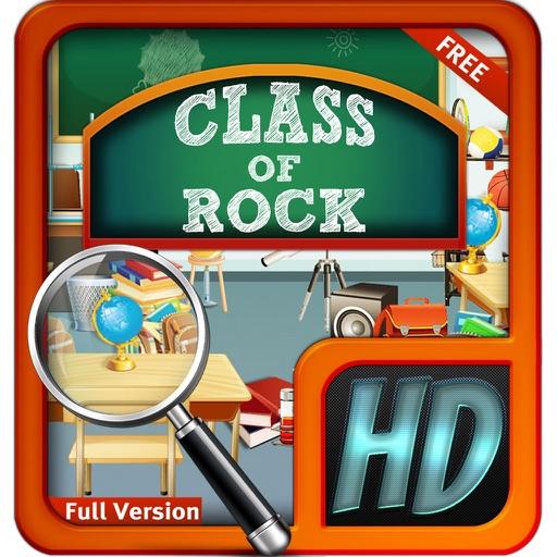Class of Rock Hidden Objects Secret Mystery Puzzle iOS App