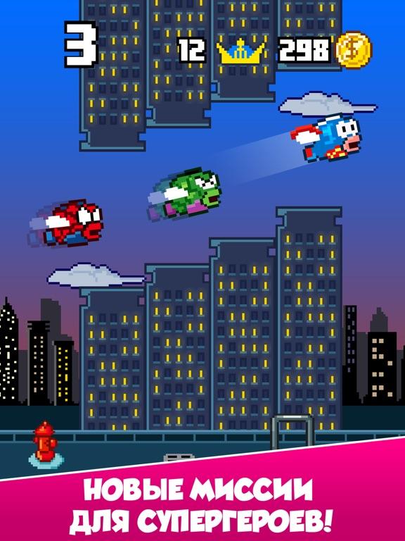 Splashy Fish - Adventure of Flappy Tiny Bird Fish Скриншоты7