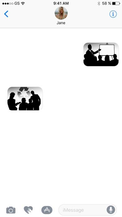 Компания стикеровСкриншоты 2